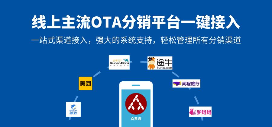 OTA分销系统